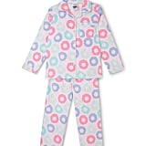 Tilii Doughnut Knit Top & Flanelette Pant Pyjama Set ($30) (Sizes 8-16)
