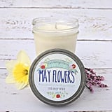 May Flowers Soy Wax Candle
