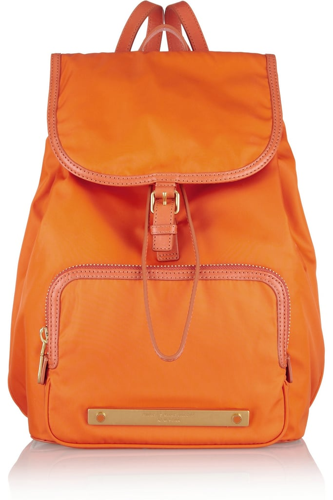 Maybe it's all the talk of Clueless (the movie turned 18 this Summer!) and '90s fashion, or perhaps its just the back-to-school sentiment I get halfway through August, but I'm seriously coveting Marc by Marc Jacobs's bright orange backpack ($330).