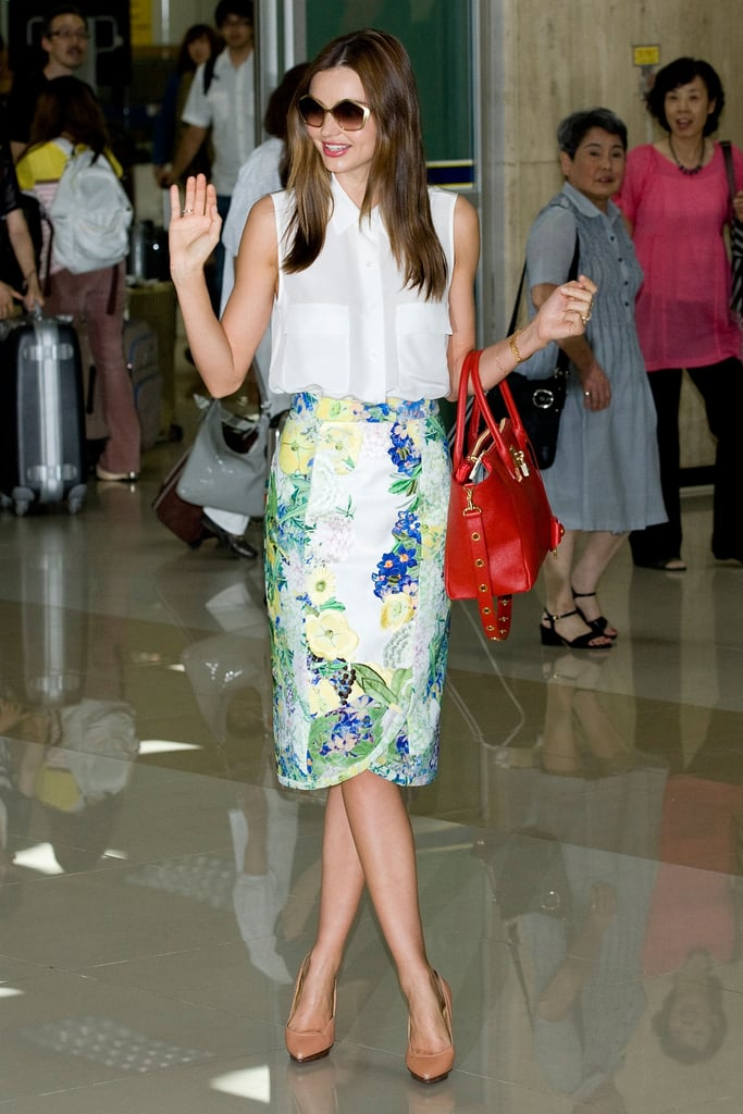 Miranda Kerr went to Seoul.