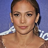 Jennifer Lopez attended an American Idol event.
