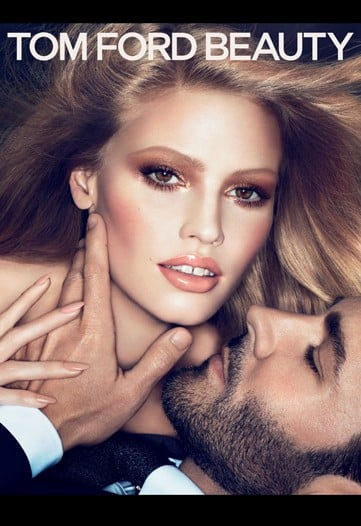 Lara Stone in Tom Ford Beauty Ad Campaign