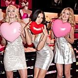 Lindsay Ellingson, Adriana Lima, and Doutzen Kroes got together.