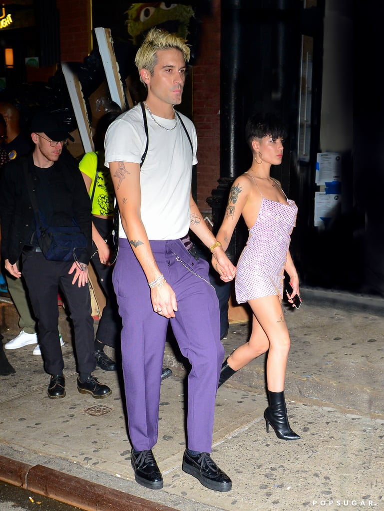 "Hold up — are Halsey and G-Eazy back together? On Monday night, the pair were photographed holding hands while leaving an NYC nightclub, just one month after announcing their split. Interestingly enough, Halsey previously told TMZ that rekindling things with an ex is never a good idea. So, did she have a change of heart?  According to E! News, Halsey and G-Eazy have ""been in touch since their split"" and are ""working on their relationship."" ""They consider each other family and are on good terms now, but not fully back together,"" a source explained. ""They are being casual right now, but are definitely working on things. They are both hoping they can have a healthy friendship, if anything."" Halsey and G-Eazy dated for a year before deciding to take ""some time apart"" in early July. At the time of their breakup, Halsey posted a message on her Instagram Story, saying she was ""eager to continue the upcoming passage of time dedicating myself to my art and career"" and that she wished the rapper ""the best."" G-Eazy and Halsey have yet to address the status of their relationship, so in the meantime, look back at some of their sweetest moments together.       Related:                                                                                                           Breakup to Makeup: 38 On-Again, Off-Again Celebrity Couples"