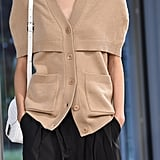 A Caplet Cardigan From the Tibi Runway at New York Fashion Week