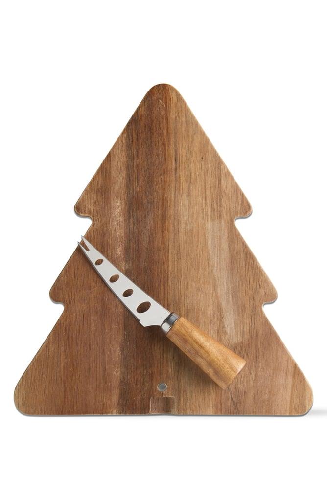 Tag Acacia Tree Board & Cheese Knife