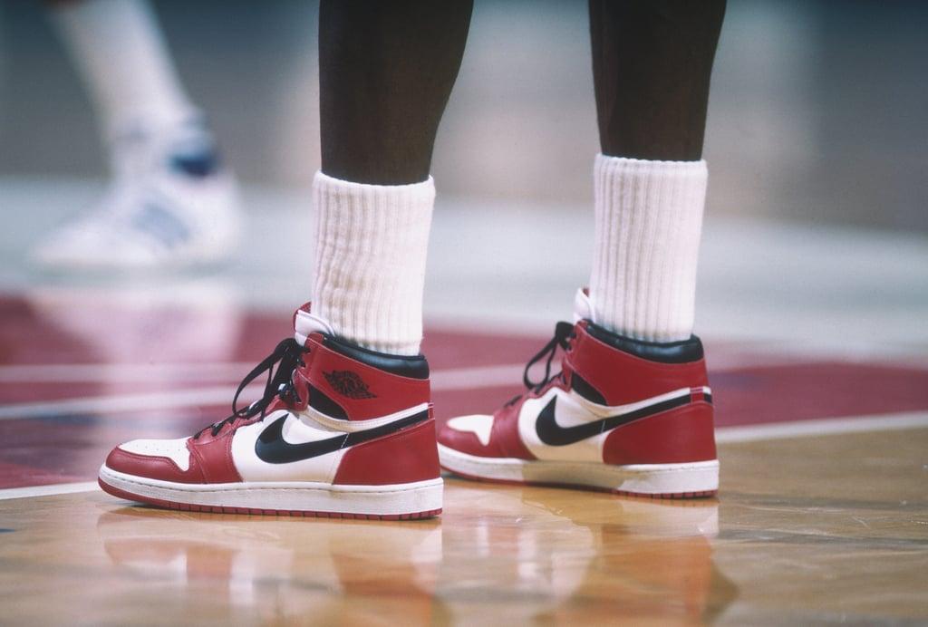 Michael Jordan's Nike Air Jordan Sneakers Sold at Auction