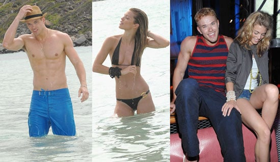 Pictures of Shirtless Kellan Lutz And AnnaLynne McCord in a Bikini in St. Maarten 2010-04-12 07:00:00