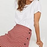 H&M Crêped Skirt
