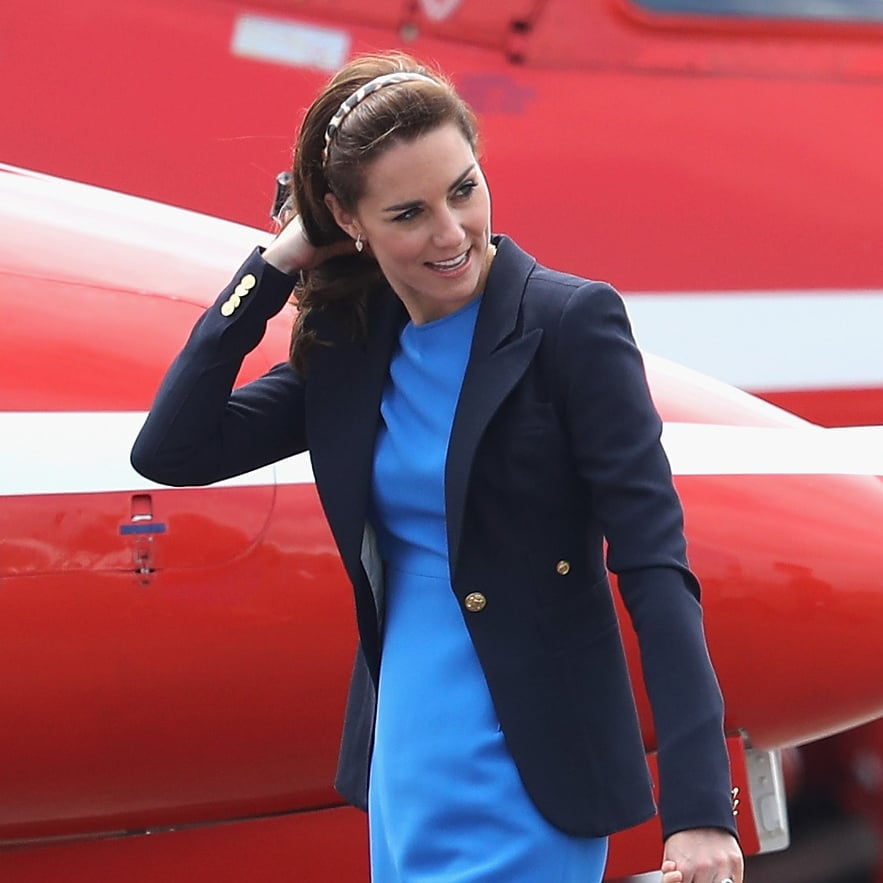 Kate Middleton's Blue Outfit July 2016
