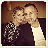 Julianne Hough was the guest of designer Georges Hobeika at his show in Paris. Source: Instagram user juleshough