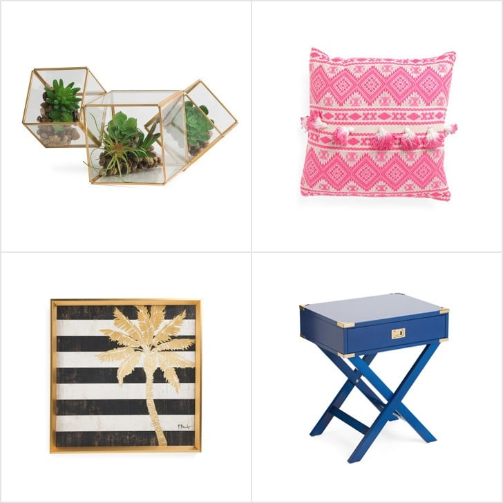 T J Maxx Spring Decor 2017 Popsugar Home