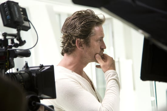 Check Out Behind-the-Scenes Shots of Gerard Butler's First L'Oréal Paris Men Expert Hydra Energetic Shoot!