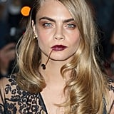 Cara Delevingne's Curled-In Waves, 2014