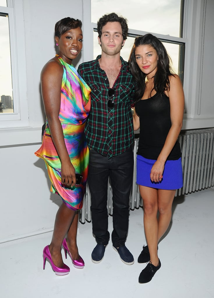 Pictures of Jessica Szohr and Penn Badgley at Malibu Party in NYC With Estelle, Sean Paul, Cobra Starship