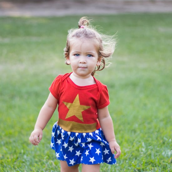 My Daughter Likes Wearing Superhero T-Shirts