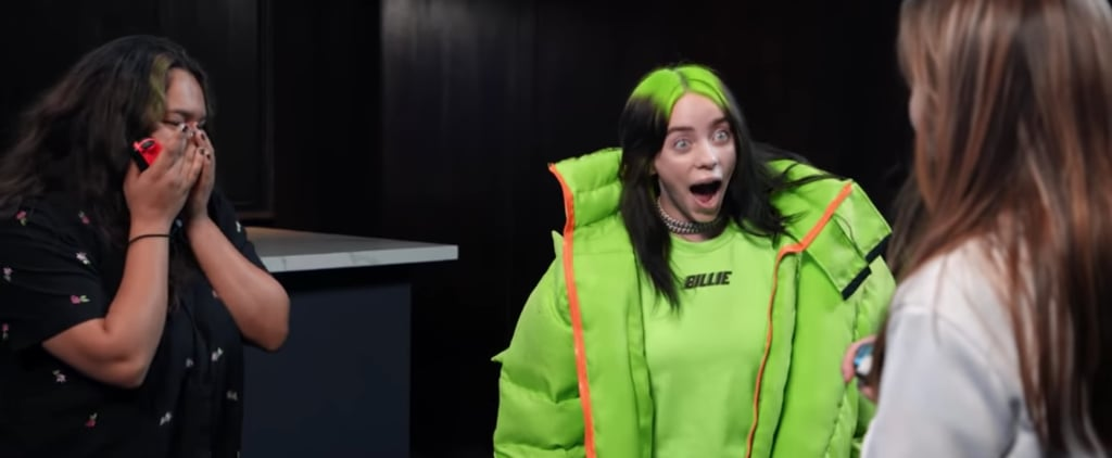 Watch Billie Eilish Surprise Fans Dancing to Her Music