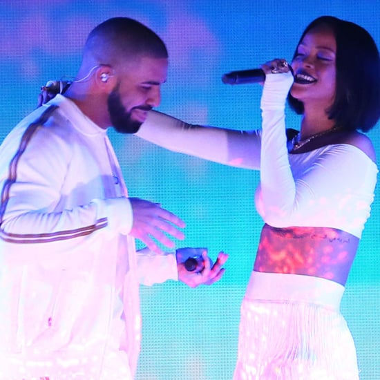 Drake and Rihanna Kissing on Stage September 2016
