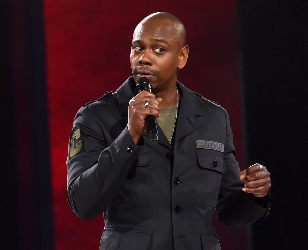 August 26, 2019: Dave Chappelle Makes Anti-Trans Jokes in Sticks & Stones Special