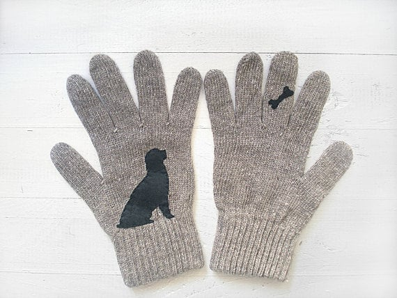 Dog Bone Gloves ($36)