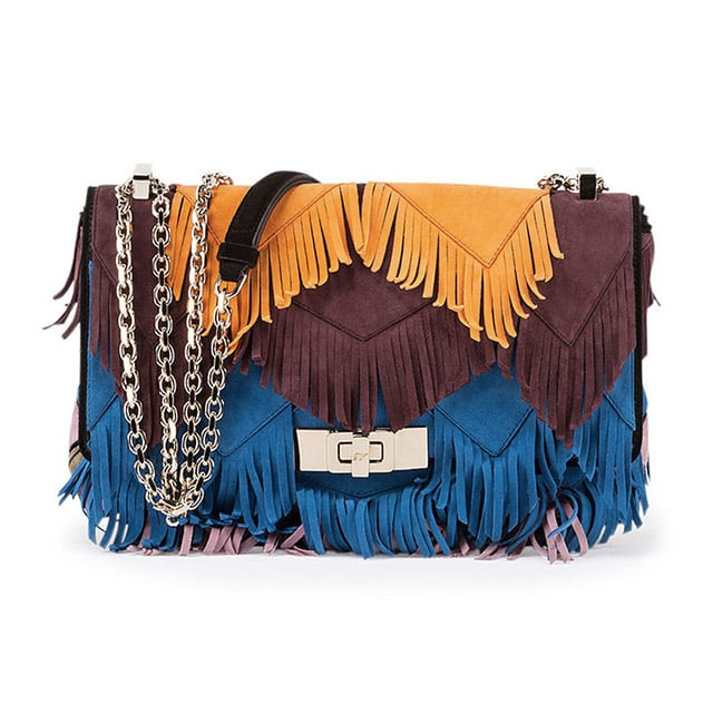 c72d0b0ef638 Roger Vivier  Prismick  Mini Fringe Shoulder Bag ( 3
