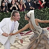 Pictured: Diplo and Ariana Grande