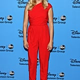 Malin Akerman's red-hot jumpsuit helped kick off Disney and ABC's Summer TCA Tour.