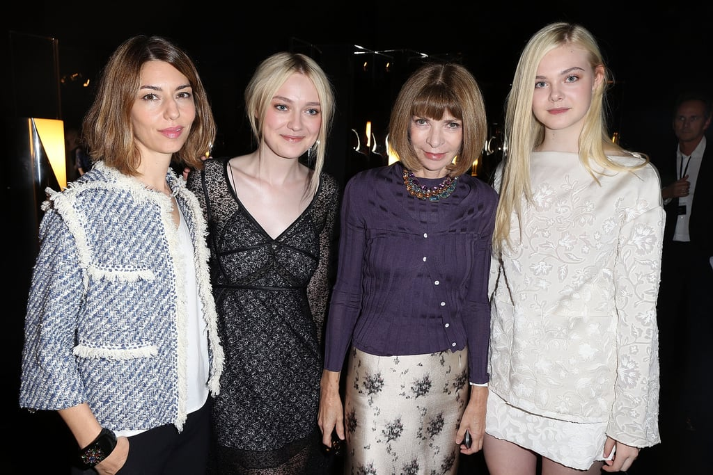 Sofia Coppola, Dakota Fanning, and Elle Fanning