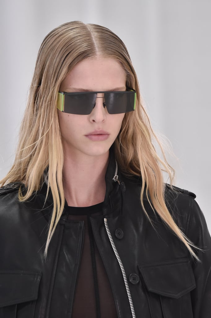 Sunglasses on the Helmut Lang Runway at New York Fashion Week