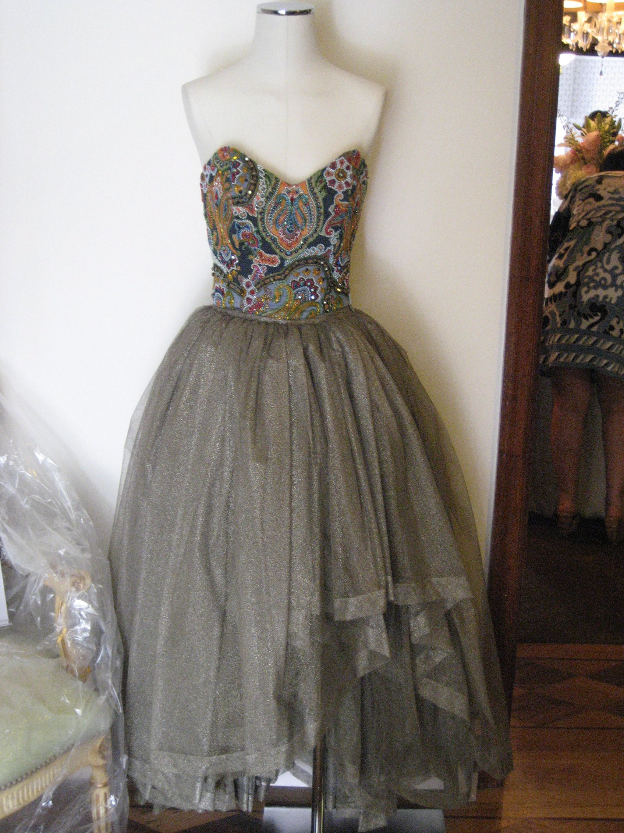 A dress fit for Carrie Bradshaw.