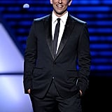 Seth Meyers began the show with a funny monologue poking fun at all the major sports leagues.