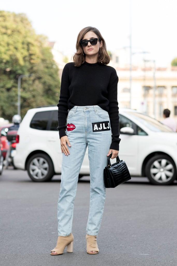 Eleonora Carisi at Milan Fashion Week Spring 2017