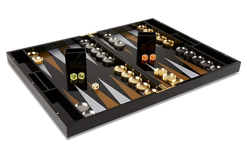 One Kings Lane Barona Backgammon Set