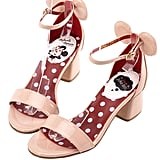 Minnie Mouse Heels in Nude ($48)