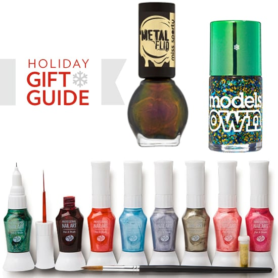 What could be more fun for this festive season than gifting a girlfriend with a daring new darling nail varnish? Choose from a metallic shade, a glittery confetti colour or a gift set so that she can create her own unique style. Have fun shopping these cool new nail art goodies from Models Own, OPI, Nail Rocks, Topshop, Miss Sporty and Rio here!