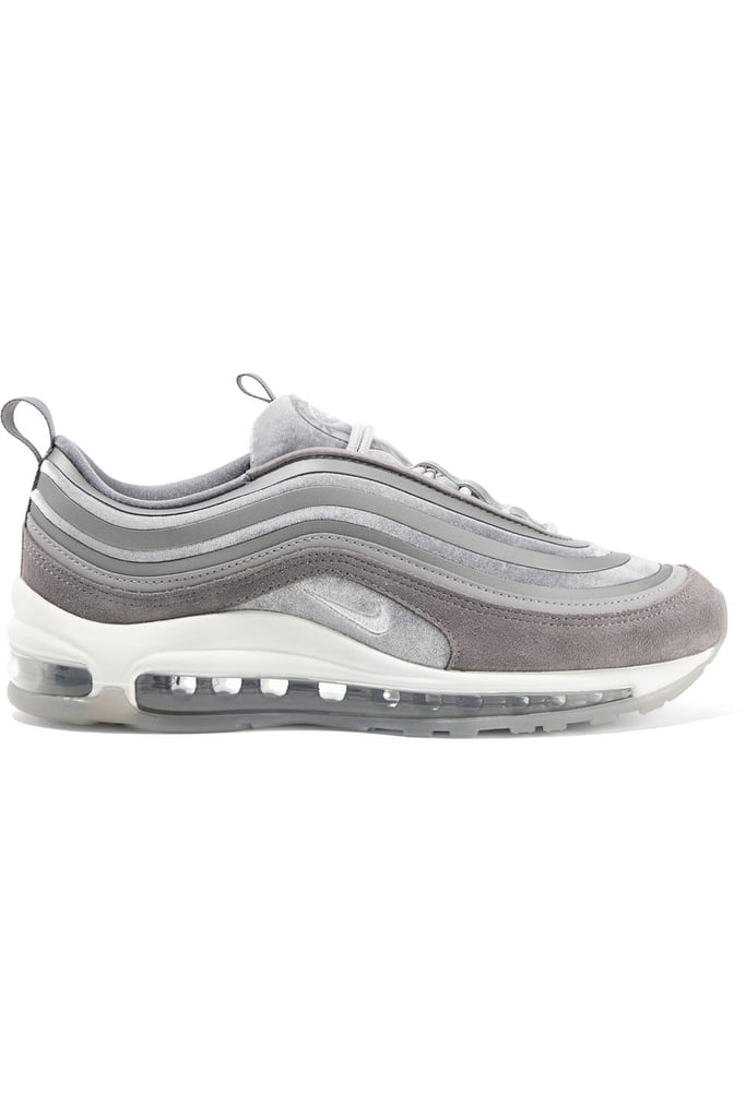 Nike Air Max 97 Velvet, Nubuck And Rubber Sneakers