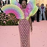 Lupita Nyongo in Versace
