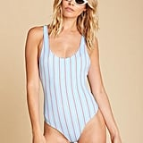 Amuse Society Blue Amalia One Piece
