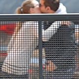 Bradley Cooper Meets Up For Lunch With a Lady Friend