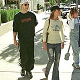 And She Even Wore a Pair While Out With Justin Timberlake in 2001