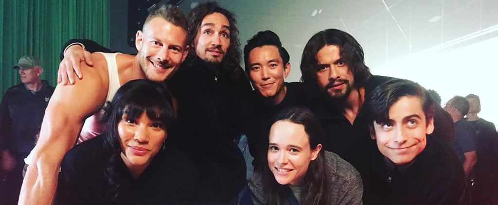 Pictures of the Umbrella Academy Cast Hanging Out