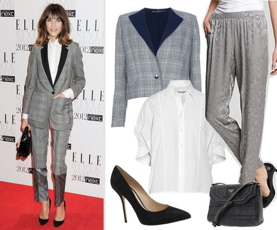 Suit Up: Checked-Print Chic