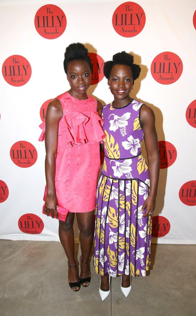 Lupita Nyong'o and Danai Gurira Pictures