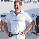 مباراة الأمير هاري في كأس البولو تبدو كقصة في مجلّة