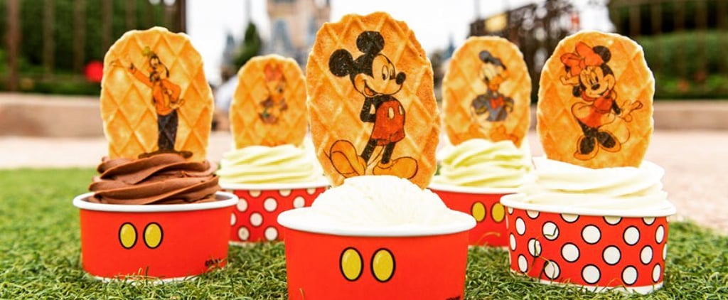 Disney World Waffle Wafer Topper Cookies