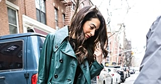 Amal Clooney Crossed the Street, and You Probably Wouldn't Have Noticed If It Wasn't For Her Coat