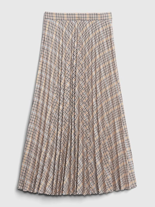 Gap Pleated Midi Skirt