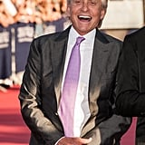 Michael Douglas gave a laugh at the opening ceremony for the Deauville American Film Festival.