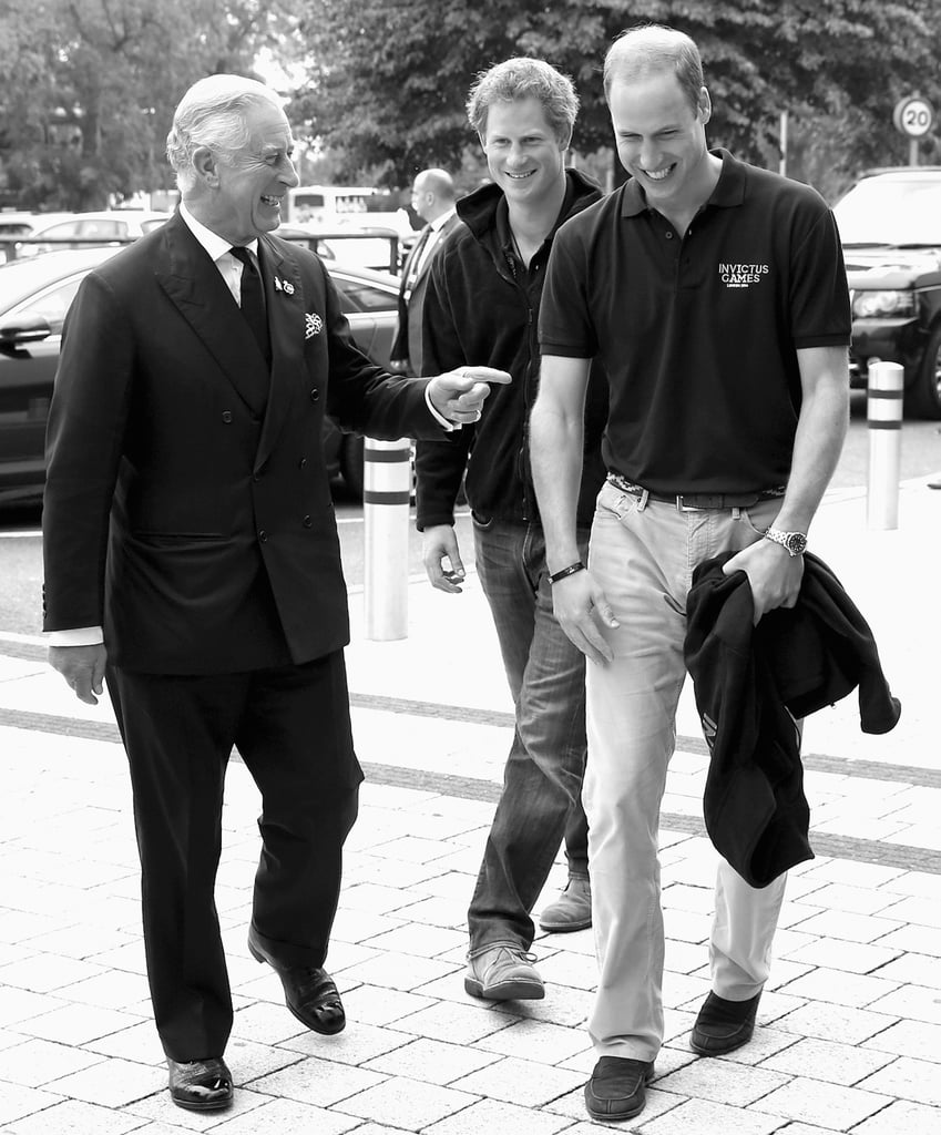 Prince Charles, Prince Harry, And Prince William, Duke Of