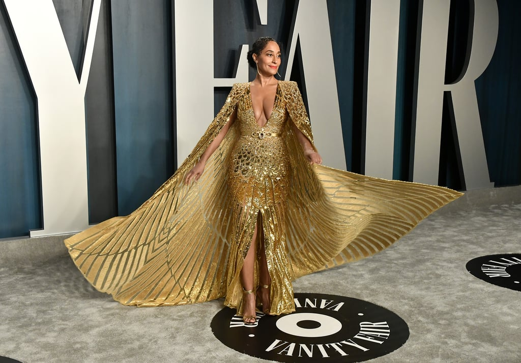 Tracee Ellis Ross at the Vanity Fair Oscars Afterparty 2020